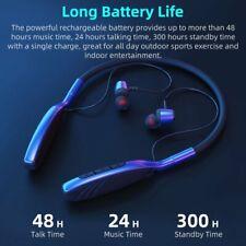 Wireless Headphones Headsets Earphone Neckband Headsets Neckband w/ Mic Sports