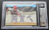2014 Topps Triple Threads Mike Trout Relics #TTRMT2 Game Used Angels BGS 9 ✨