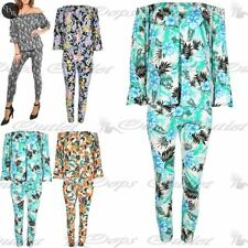Unbranded Floral 3/4 Sleeve Jumpsuits & Playsuits for Women