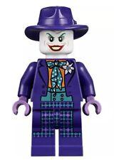 Lego Guasón Minifigura 76013 y púrpura de Fedora Sombrero BATMAN DC SUPERHÉROES-Raro Nc11