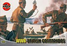 AIRFIX 1:72 WWII COMMANDO BRITISH COMMANDOS 40 SOLDATINI ART 01732 SERIE 1