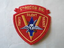 PATCH US NAVY 5th RECON BN / MARINE CORPS USA