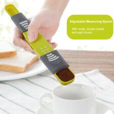 Kitchen Adjustable Measuring Spoons Coffee Spoon Cooking Powder Metering Scoop