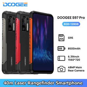 DOOGEE S97 Pro 8500mAh 40m Laser Rangefinder 48MP Helio G95 Octa Core 8GB+128GB
