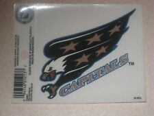 Washington Capitals NHL Hockey Reusable Static Cling Window Decal Sticker