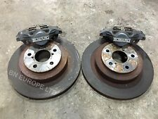 SUBARU IMPREZA LEGACY FORESTER REAR 2 POT BRAKE CALIPERS DISKS WRX STI 22B JDM
