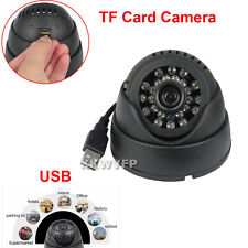 Reliable USB TF Card Slot Night Vision CCTV DVR Dome Home Security Camera K802