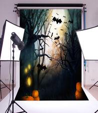 Halloween Horror Forest Vinyl Photography Backdrop Background Props Studio 5x7FT