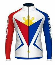 Philippines Long Sleeve Cycling Jersey Free Shipping