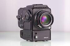 Hasselblad 500EL/M the M 500+ 80mm C T +Sparkling Screen+ A12+ Wlf +6V Adapt