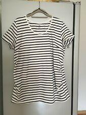 Umstands-Shirt, Kurzarm, H&M Mama, Gr. XL, gestreift