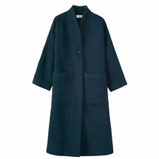 WOOL ALPACA LONG COAT By Toast - Size 6  Current Winter Collection - TEAL £315