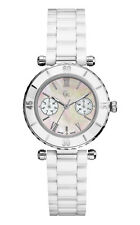 Guess GC 35003l1 Diver Chic Women's Watch - White Stainless Steel Casing &