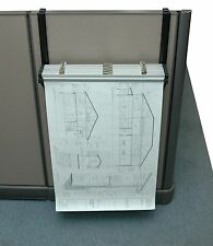 Adir Corp Cubicle Wall Rack Blueprint, Map, Art File Hanging Safco 5029