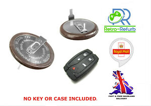 2x Panasonic VL2330 Rechargeable 3V Battery Fits Land Rover Freelander 2 Key Fob