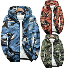 Fashion Men Camouflage Military Jacket Bomber Tactical Windbreaker Hooded Jacket