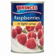 Princes Raspberries in Light Syrup 300g - (PACK OF 4)