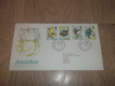 FIRST DAY COVER ROYAL MAIL BRITISH BIRDS ~ 16  JANUARY 1980