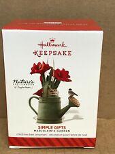 2014 Hallmark Marjolein's Garden - Simple Gifts - 1st in the Series