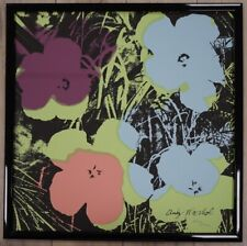 C Andy Warhol Flowers Lithograph Limited 2400 pcs.