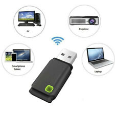 Mini USB 300Mbps Wireless WiFi Lan Network Receiver Card Adapter For Desktop PC