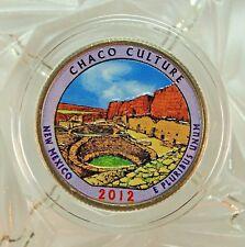 COLORIZED 2012-D / CHACO CULTURE / AMERICA THE BEAUTIFUL QUARTER...13324