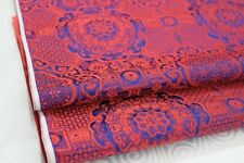 Brocade Fabric Damask Tapestry Costume Mongolian Robe Satin Material Soft Cloth