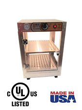 HeatMax 14x14x20 Commercial Food Warmer Display, Patty, Pizza Empanada Pastry