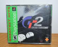 Vintage GRAN TURISMO 2 PS1 Video Game No Manuals 1999 Playstation 1 GT2