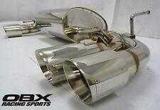 OBX Axle Back Exhaust Fits 08 09 10 11 Subaru Impreza WRX STi 2.5L GR Series