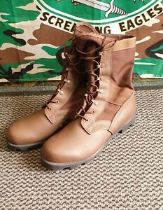 ID688 WP Brown Jungle Combat Boots Size 10m Spike Protection