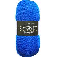 Cygnet Glittery DK Double Knitting Acrylic Yarn / Wool 100g - 232 ROYAL