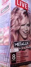 Schwarzkopf LIVE Colour Metallic Semi-Permanent Hair Color - Rose Gold