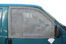 Qualità Tedesca Cabina Finestra Zanzariere per VW T4 con magneti Grigio C9073G