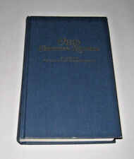 Ohio Cemetery Records Extracted Old Northwest Genealogy Quarterly 1898-1912