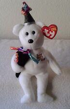Ty 2006 New Year Holiday Teddy Beanie Baby Christmas Holiday Bear w/Tags