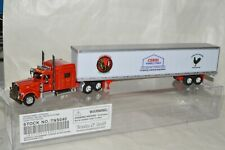HO scale Trucks n' Stuff Peterbilt tractor Cerri Feed California 53' trailer