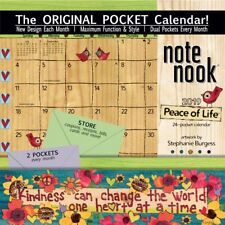 2019 Peace of Life Pocket Wall Calendar, More Folk Art by Wells Street by LANG