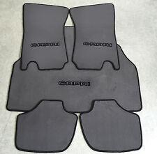 Autoteppich Fußmatten Kofferraum Set Ford Capri 2-3 Grau schwarz 5tlg Neu Velour