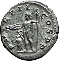 GORDIAN III 238AD Authentic Original Ancient Silver Roman Coin Jupiter i59000