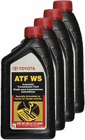 GENUINE TOYOTA LEXUS SCION OEM ATF WS TRANSMISSION OIL FLUID - 4QT 00289-ATFWS