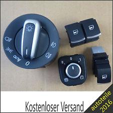 Fensterheberschalter Seitenspiegel Licht Schalter Für VW EOS Golf V VI Jetta III