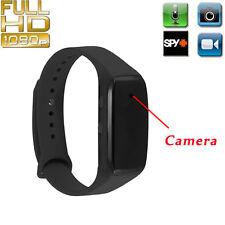 Full HD 1080P SPY DVR Hidden Camera Smart Wearable Watch Mini DV Video Recorder