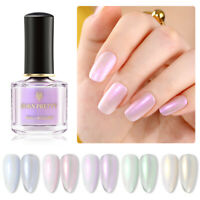 BORN PRETTY Pearl Shell Glimmer Nail Polish Glitter Shiny Nail Art Varnish