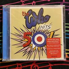The Who - HITS 50! [CD, 2014, Geffen Records] Greatest Hits, Remastered, SEALED