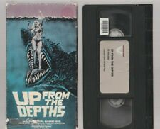 UP FROM THE DEPTHS Horror VHS VESTRON video Movie Gore Cult Slasher Sex THE