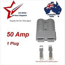 50 Amp Anderson Style Plug x 1 Fitin Brand. 4WD car solar panel plugs socket 12v