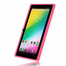"iRULU 7"" 8GB Google Android 6.0 Marshmallow Quad Core Capacitive Tablet PC Pink"