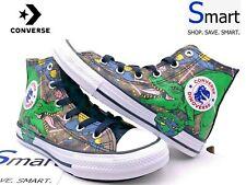 NIB SIZE 1Y YOUTH Converse All Star Hi Dinosaur TREX Boys Girl Kid Shoes Sneaker