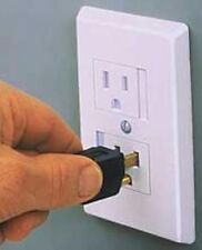 NEW CHILD SAFETY AUTO SNAP-SHUT ELECTRIC OUTLET COVER!